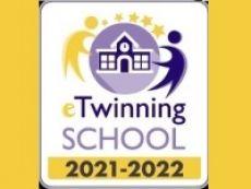 Titul Škola eTwinning 2021-2022
